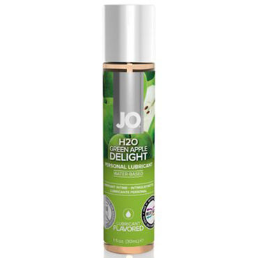 System JO Green Apple Delight, 30 мл Лубрикант на водной основе со вкусом яблока system jo red licorice 30 мл молока