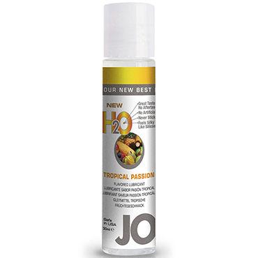 Тестер System JO Tropical Passion, 3 мл Лубрикант на водной основе с ароматом тропических фруктов ароматизированный лубрикант jo flavored tropical passion 120 мл