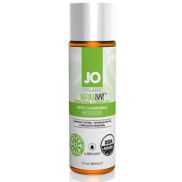 System JO Organic NaturaLove, 60 мл Органический лубрикант на водной основе, с экстрактом ромашки system jo ароматизированный любрикант на водной основе jo flavored cherry burst 120 мл