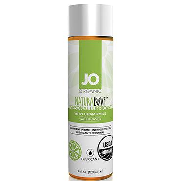 System JO Organic NaturaLove, 120 мл Органический лубрикант на водной основе, с экстрактом ромашки vizit гель смазка erotic возбуждающий 100 мл