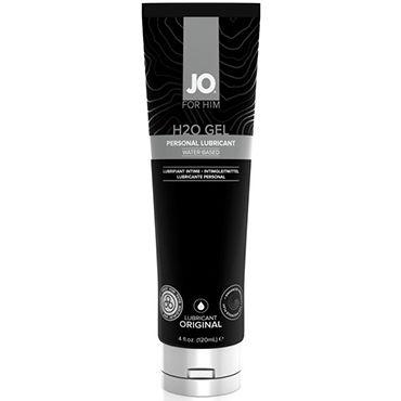 System JO H2O Gel For Him, 120 мл Мужской лубрикант на водной основе для индивидуального использования mister b gun oil h2o lubricant 118 мл лубрикант с алоэ вера