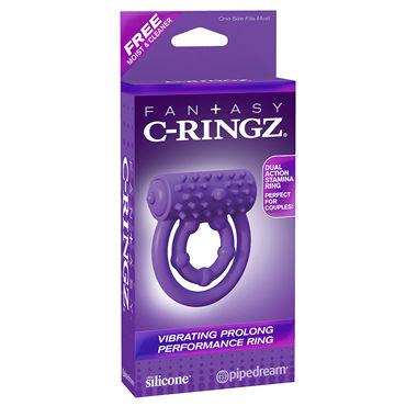 Pipedream Vibrating Prolong Performance Ring Эрекционное кольцо эрекционное кольцо vibrating ring со стимулятором клитора с вибрацией черное