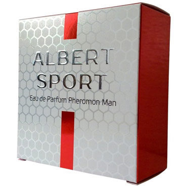 Natural Instinct Albert Sport для мужчин, 75 мл Духи с феромонами дезодорант с феромонами для мужчин jo phr deodorant men women 75 мл
