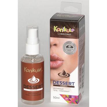 Kanikule Desert Chocolate Гель-лубрикант, 50 мл На водной основе soft line подвязка белая со стразиком на бантике