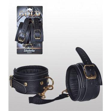 Sitabella Gold Collection BDSM Наручники С золотистыми вставками sitabella наручники из пенистого неопрена