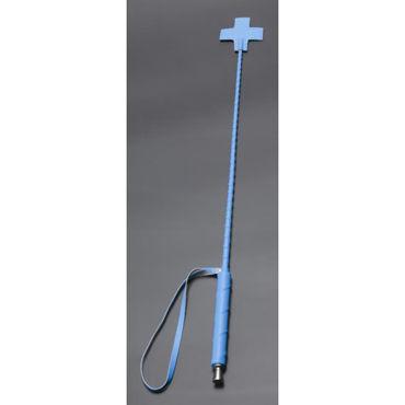 Sitabella Стек с крестом, голубой С жесткой рукояткой sitabella стек с крестом красный металлическая рукоять