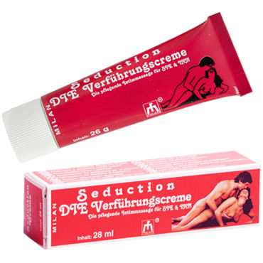 Milan Seduction, 28 мл Крем, усиливающий сексуальное желание milan langzeit 28 мл мужской пролонгирующий крем