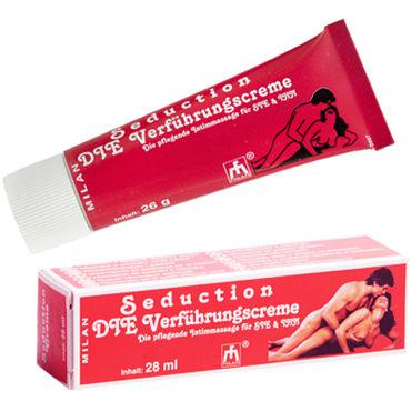 Milan Seduction, 28 мл Крем, усиливающий сексуальное желание вибромассажер toyfa black