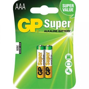 GP Батарейка AAA, 2 шт Элемент питания массажеры