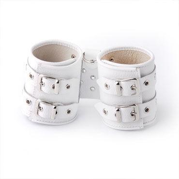 Sitabella манжеты белый С двумя регулируемыми пряжками воротнички и эротичные манжеты цвет белый