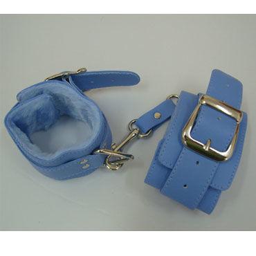 Sitabella наручники голубой С подкладкой из искусственного меха комплект velma l xl