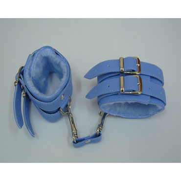 Sitabella наручники Two голубой С подкладкой из искусственного меха fun factory и balls черный 4