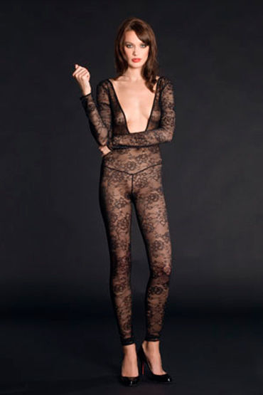 Maison Close, боди Villa Des Lys Catsuit В виде чулка на тело maison close rue des demoiselles body string