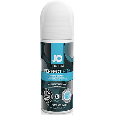 System JO Pheromone Deodorant Men, 75мл Дезодорант с феромонами для мужчин духи pheromone 100 sexy life духи pheromone 100