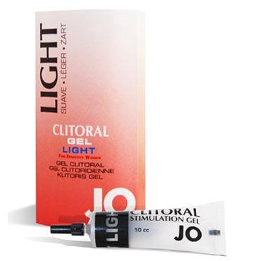 System JO Clitoral Gel Light, 16мл Возбуждающий гель для клитора с легкой степенью воздействия lola rapier plug синий анальный стимулятор