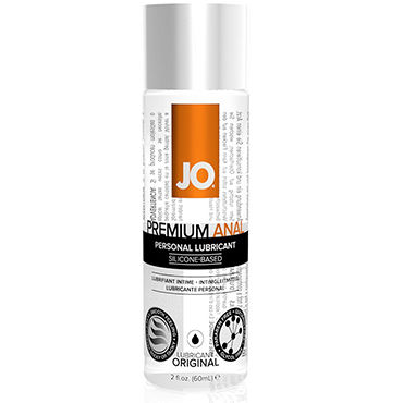 System JO Anal Premium, 60 мл Анальный лубрикант на силиконовой основе pipedream moist anal lube 30 мл анальный гель лубрикант