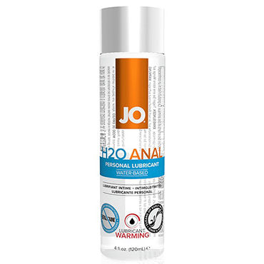 System JO Anal H2O Warming, 120 мл Анальный согревающий лубрикант на водной основе lelo personal moisturizer 75 мл увлажняющий лубрикант на водной основе