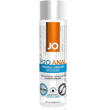 System JO Anal H2O Cooling, 120 мл Анальный охлаждающий лубрикант на водной основе охлаждающий вагинальный гель intensify plus female arousal gel – cooling 15 мл