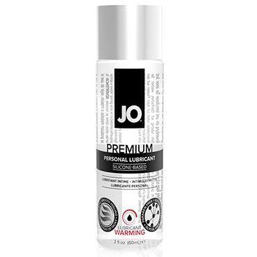 System JO Premium Warming, 60 мл Возбуждающий лубрикант на силиконовой основе женский нейтральный любрикант на силиконовой основе jo 120 ml