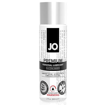 System JO Premium Warming, 60 мл Возбуждающий лубрикант на силиконовой основе system jo all in one fragrance free 120мл массажное масло и лубрикант без запаха