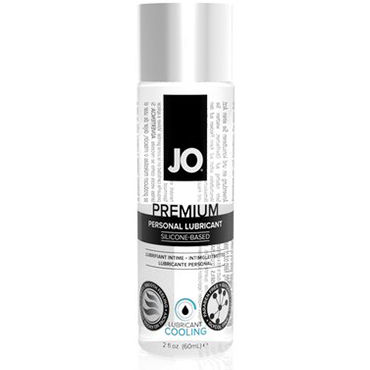 System JO Premium Cooling, 60 мл Охлаждающий лубрикант на силиконовой основе мужской охлаждающий силиконовый лубрикант jo for men premium cooling 125 мл