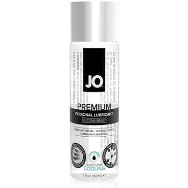 System JO Premium Cooling, 60 мл Охлаждающий лубрикант на силиконовой основе женский охлаждающий силиконовый лубрикант jo premium women cool 60 мл