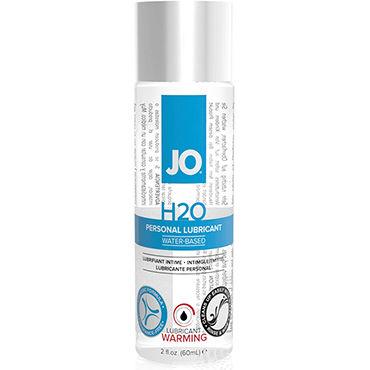 System JO H2O Warming, 60 мл Возбуждающий лубрикант на водной основе анальная втулка smile hopper черная