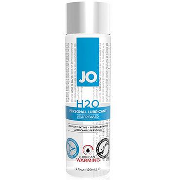 System JO H2O Warming, 120 мл Возбуждающий лубрикант на водной основе ароматизированный лубрикант jo flavored cherry burst 120 мл