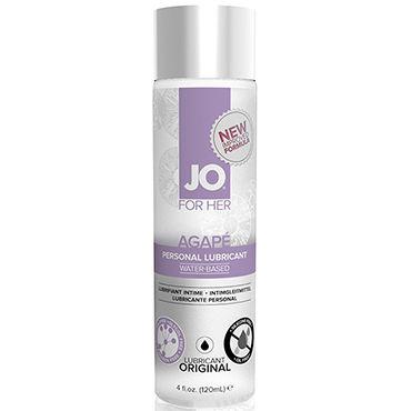 System JO Agape Women, 120мл Женский лубрикант для очень чувствительной кожи vizit презервативы color цветные ароматизированные 12 шт