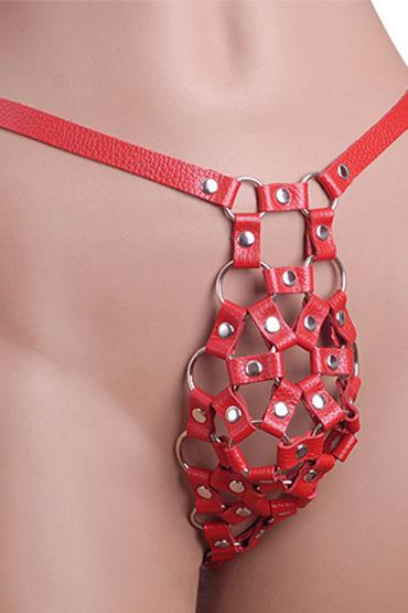 Sitabella трусы, красные С металлической фурнитурой комбинезон captivating kitten catsuit размер os