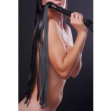 Sitabella плеть, черная С длинными хвостами sitabella плеть с пятью хвостами