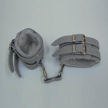 Sitabella наручники С меховой подкладкой sitabella наручники серебристо голубой с подкладкой из искусственного меха
