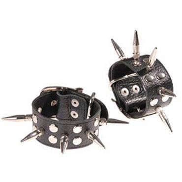 Sitabella наручники С длинными шипами baile titan cock ring черный набор из эрекционных колец