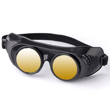 Sitabella Крюгер, черно-желтый Очки с зеркальными линзами 6 beastly маска черно красная