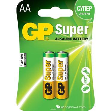 GP Super AA Элемент питания, 2 шт gopaldas mojo черный большая анальная пробка