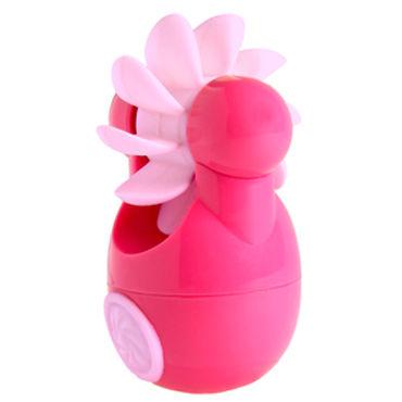 Sqweel Go Pink Карманный клиторальный стимулятор lola toys diamond sparkle small серебристая анальная пробка с розовым кристаллом