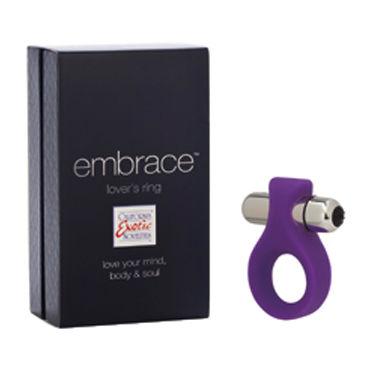 California Exotic Lovers Ring, фиолетовый Эрекционное кольцо с мощной вибрацией california exotic intimate ring ribbed кольцо на пенис