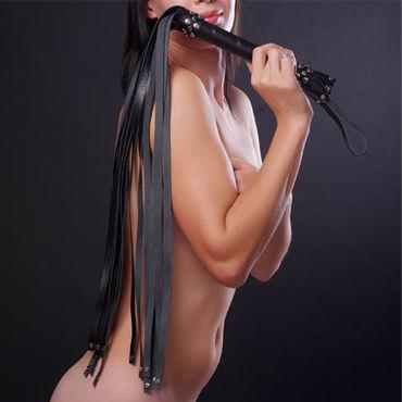 Sitabella плеть, белая С длинными хвостами sitabella розги красные с тремя полимерными хлыстами