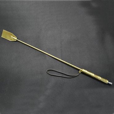 Sitabella стек, золотой С деревянной рукояткой bdsm арсенал стек черный с шлепком в форме сердца