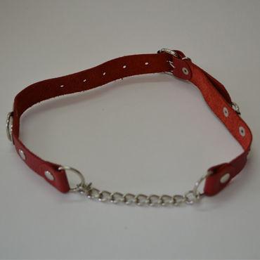 Sitabella кляп, красный С металлической цепочкой и roxana комбинация и стринги
