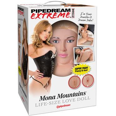 Pipedream Mona Mountains Очаровательная блондинка с вагиной и анусом pipedream fantasy c ringz silicone duo ring двойное эрекционное кольцо со стимулятором клитора