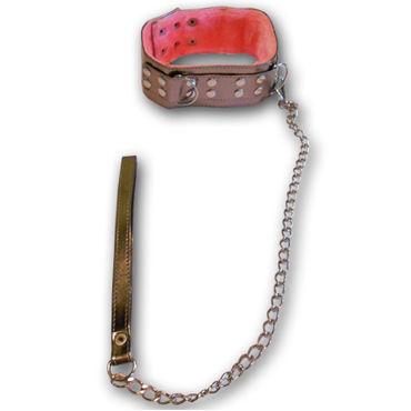 Sitabella ошейник, золотой С меховой подкладкой и поводком электростимулятор зажимы для сосков с пультом управления