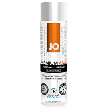 System JO Anal Premium Cooling, 120 мл Анальный охлаждающий лубрикант тестер system jo peachy lips 3 мл
