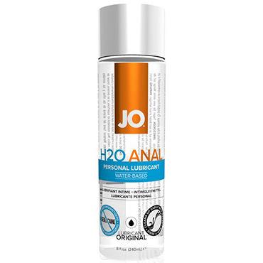 System JO Anal H2O, 240 мл Анальный лубрикант на водной основе system jo all in one fragrance free 120мл массажное масло и лубрикант без запаха