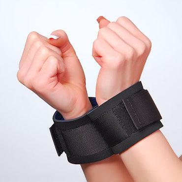 Sitabella наручники Тканевые, для фиксации baile pretty love hedy белый мастурбатор вагина в тубусе