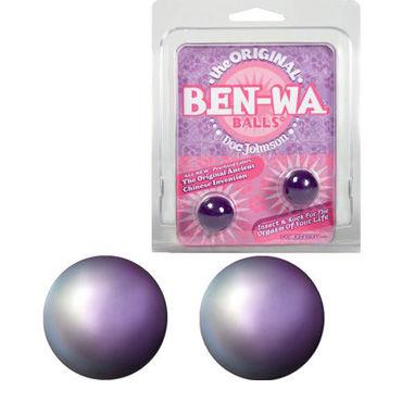 Doc Johnson Ben-Wa, фиолетовый Вагинальные шарики для тренировки мышц т ouch extreme neoprene mask черная