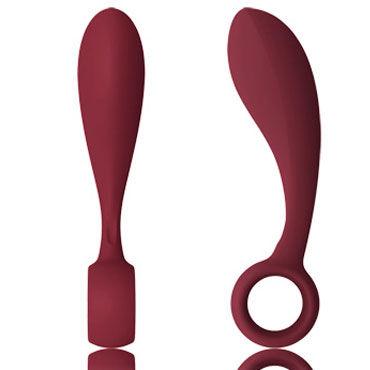 Lelo Bob, темно-красный Стильный мужской стимулятор страпоны и фаллопротезы для мужчин цвет красный