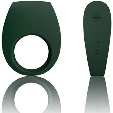 Lelo Tor 2, зеленое Перезаряжаемое эрекционное кольцо с вибрацией, водонепроницаемое tom of finland break time коричневый фаллоимитатор анальный