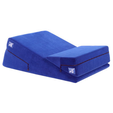 Liberator Combo, синий Набор подушек для секса liberator retail black label wedge черная любовь