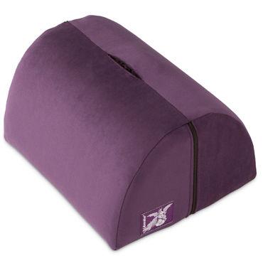 Liberator Bonbon Toy Mount, фиолетовая Подушка с кармашком для вибратора liberator retail black label wedge черная любовь